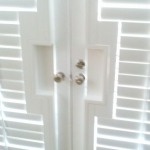 Square Cut Out on French Door