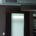 3 percent Roller shades with Drapes