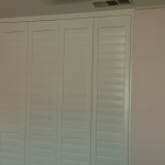 Shutter As Closet Door