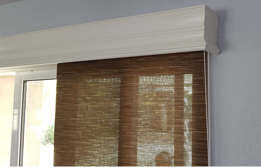 Majestic Valance Over Panel Track