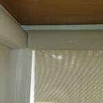 Roller Shade Corner Window