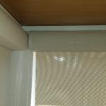 Roller Shade Corner Window