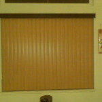 Vertical Slats with Darker Valance