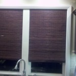Woven Wood in Kitchen