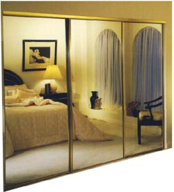 Mirrored Wardrobe Door