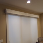 Roller Shade with Cornice Box Valance