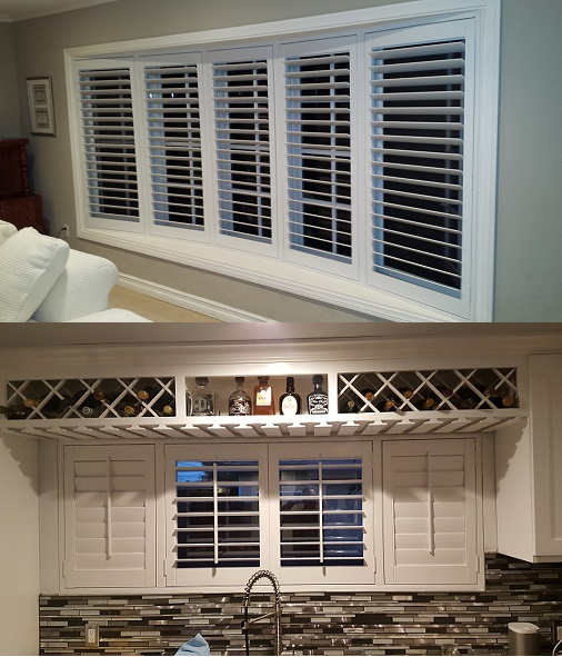 Standard Rectangle Plantation Shutters