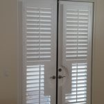 Basswood French Door Shutters