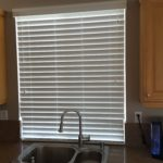 Norman Horizontal Blind with Tile Cutout