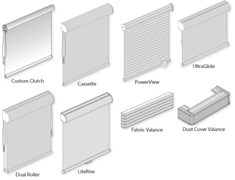 Hunter Douglas Roller Shade Lift Options