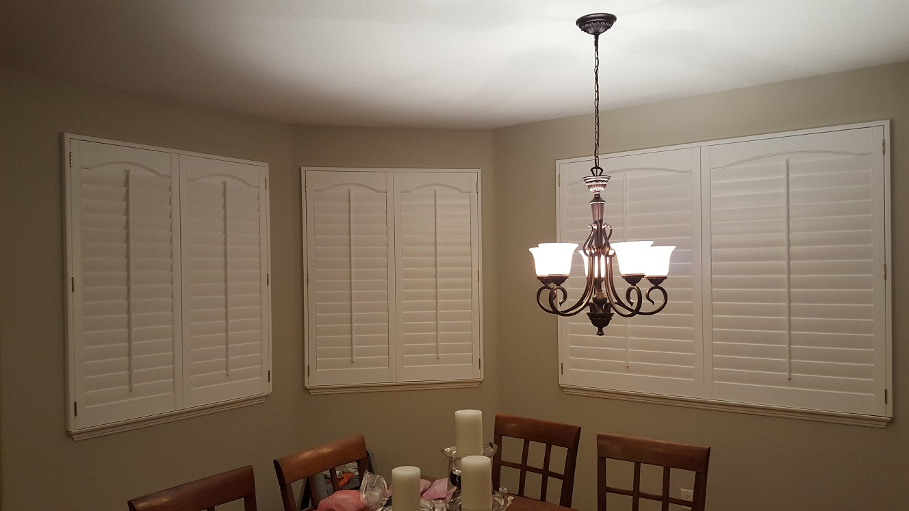 3 sided shutter with Liberty Arch