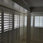 Basswood Corner Window Shutter