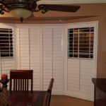 Bay Window L Frame Polycore Shutter