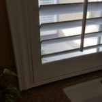 Four Sided Sill Cut Shutter For Sink