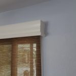 Majestic Wood Valance With Roller Shade
