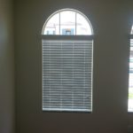 Horizontal Blind Under Large Arch