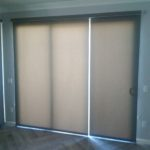 Century Roller Shade Side by Side With Gap