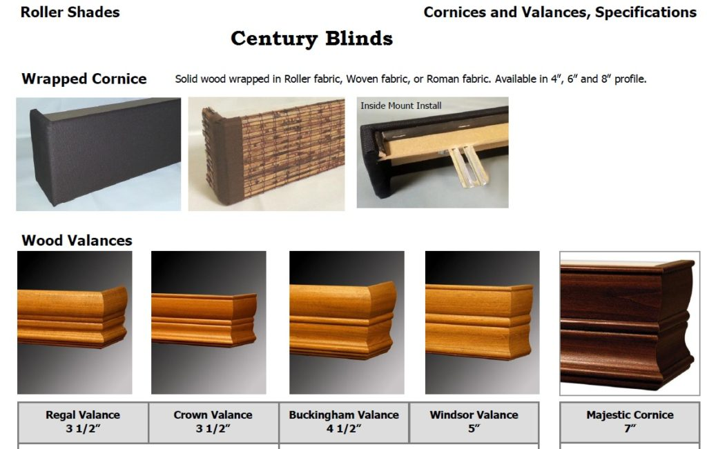 Century Valances