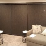 3 Roller Shades side by side