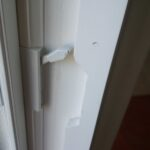 Casement Window Shutter aFrame Notch for Lock