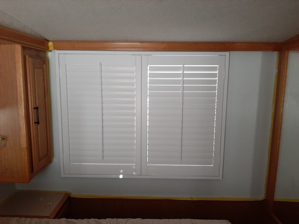 RV Shutters Bedroom